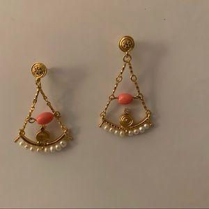 Banana Republic chandelier earrings